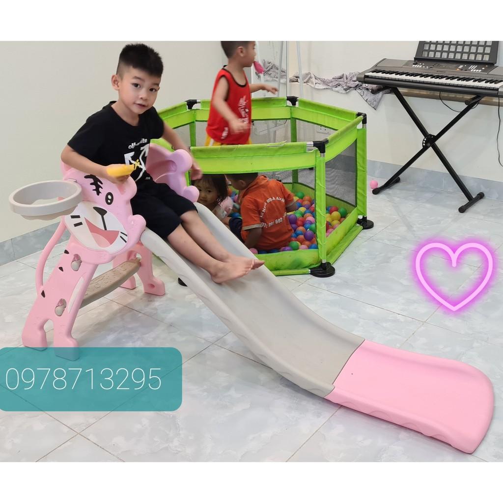 Cầu trượt cho bé ( Siêu bền, bảo hành 1 năm )