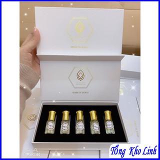 Set tinh dầu nước hoa Dubai 5 chai dạng lăn thumbnail