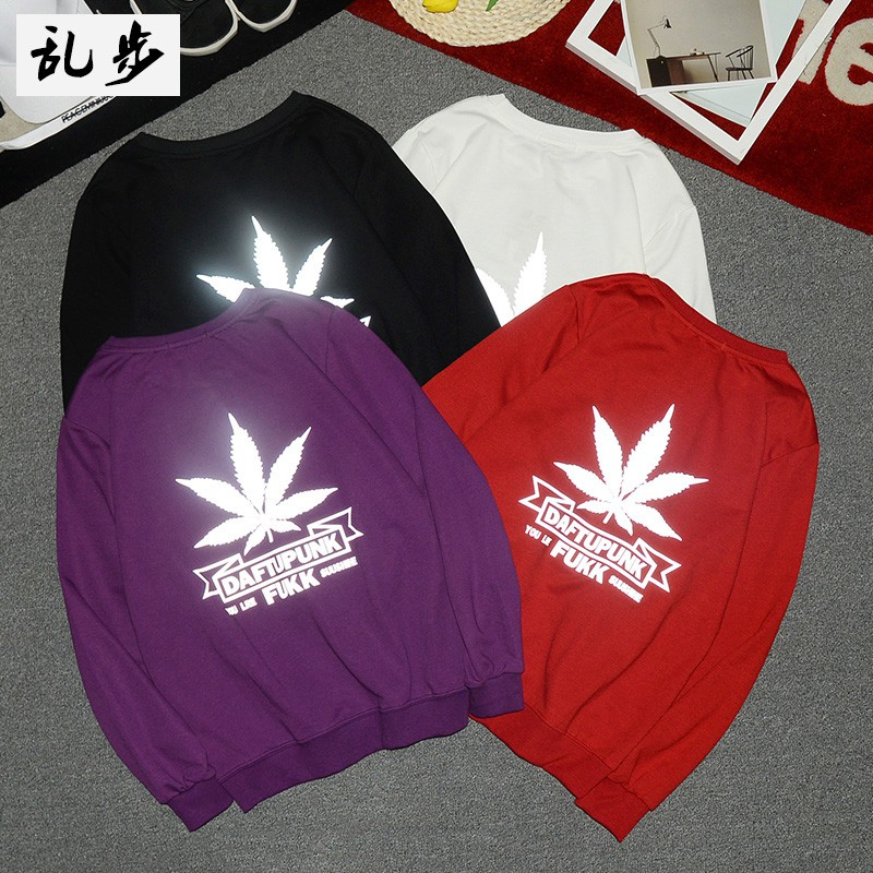 Men's long-sleeved sweatshirts with Korean fashion hats