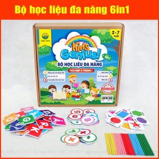Bộ học liệu đa năng tích hợp 6in 1 Hapu Kids Genius thumbnail