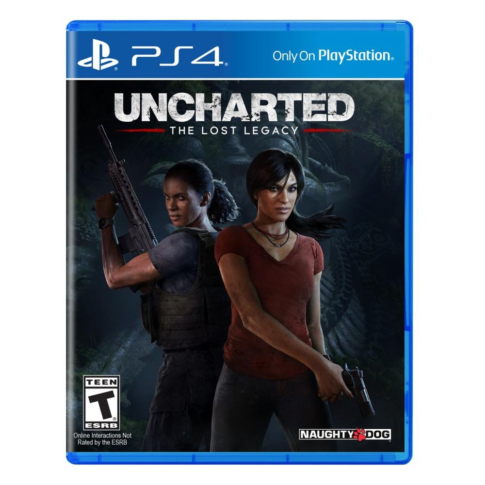 Đĩa game ps4 Uncharted the lost legacy