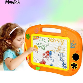 👶🏼Educational Doodle Toy Erasable Magnetic Drawing Board with Pen & Stamper