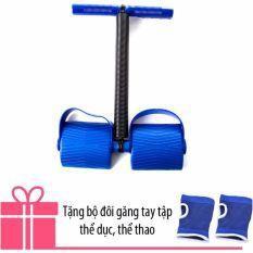 Dụng cụ tập thể dục Tummy Trimmer tặng Găng tay bó gối đa năng