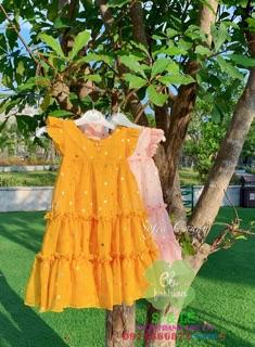 Đầm voan tơ sofia candy siêu đẹp
