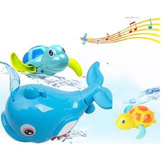 Bộ đồ chơi cá Heo,Rùa trong bể bơi cho bé