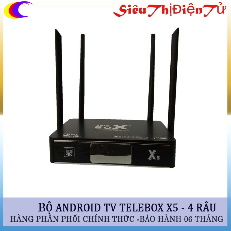 android tv box smart telebox x5