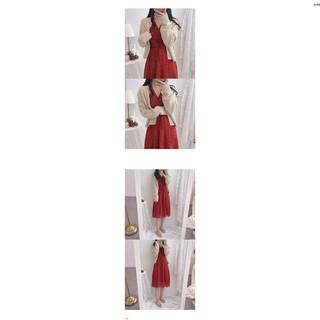 Đầm Voan Hoa Tay Dài Thời Trang Xinh Xắn Cho Nữ