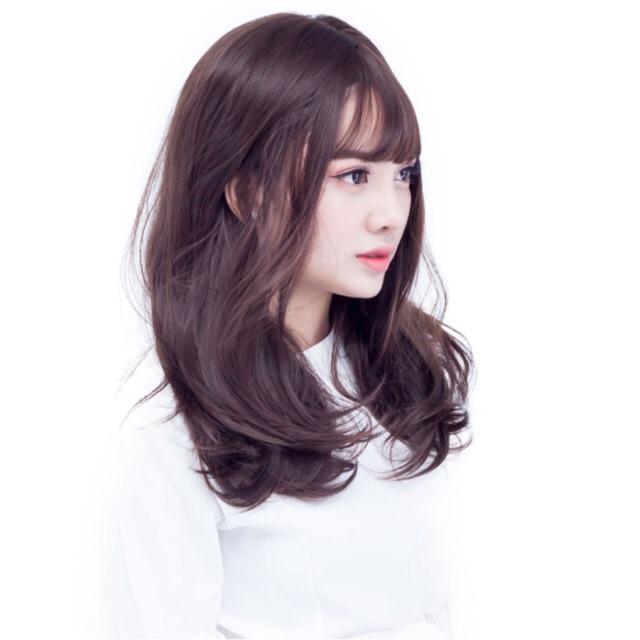 Tóc giả nguyên đầu mái thưa xoăn nhẹ tự nhiên Hàn Quốc c001 - 2908044 , 1032098555 , 322_1032098555 , 270000 , Toc-gia-nguyen-dau-mai-thua-xoan-nhe-tu-nhien-Han-Quoc-c001-322_1032098555 , shopee.vn , Tóc giả nguyên đầu mái thưa xoăn nhẹ tự nhiên Hàn Quốc c001