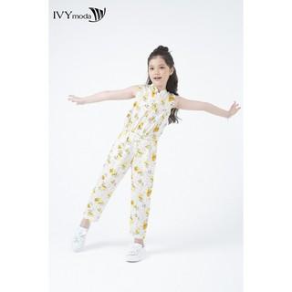 Áo liền quần lụa bé gái IVY moda MS 18G0588 thumbnail