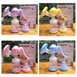 (Tặng 6 túi trữ sữa) Máy hút sữa tay Ga baby Hàn Quốc