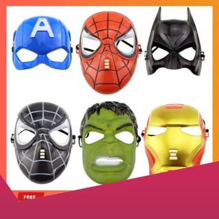 [SALE SẬP SÀN] Đồ chơi mặt nạ cosplay siêu anh hùng Avengers Marvel hàng chuẩn đẹp