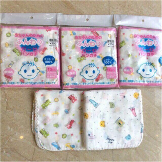 khăn sữa xô hoa 100% cotton siêu mềm mịn