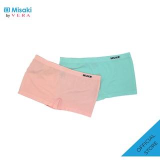 Combo 02 quần lót Misaki by Vera seamless dáng boxer mặc trong váy-9322 thumbnail
