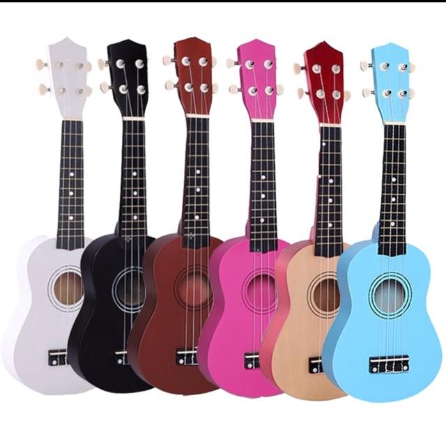 Đàn ukulele 21inch màu trơn kèm bao vải và sách học - 3071497 , 1239021683 , 322_1239021683 , 365000 , Dan-ukulele-21inch-mau-tron-kem-bao-vai-va-sach-hoc-322_1239021683 , shopee.vn , Đàn ukulele 21inch màu trơn kèm bao vải và sách học