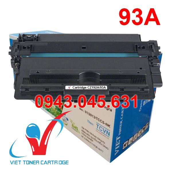 Hộp Mực 93A - HP Pro M435NW, M701, M706 - Cartridge CZ192A - Cartridge 93A [Full Box]