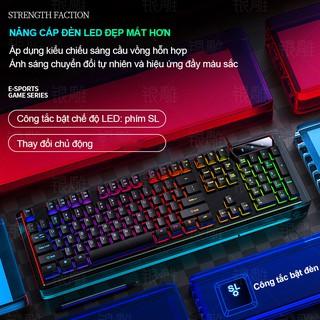 Hình ảnh Bàn Phím Máy Tính Gaming RGB SIDOTECH YINDIAO V4 Có Dây / Đèn LED RGB Chống Nước Chơi Game Máy Tính Esport - Chính Hãng-3
