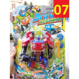 [ GIÁ RẺ SẬP SÀN ] Robot biến hình mã 07