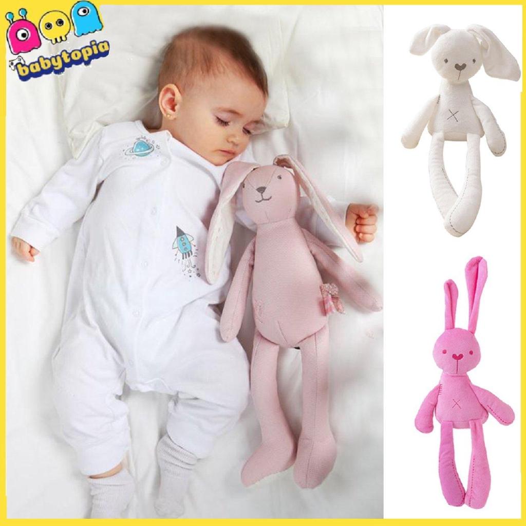 Thỏ bông mềm mịn cho bé ôm khi ngủ