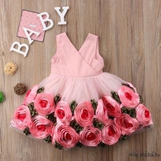 Đầm bông cho bé