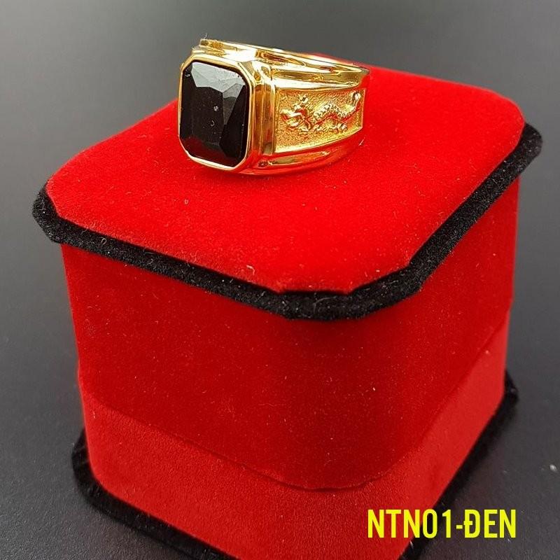 Nhẫn Tay Nam NTN01- Đen