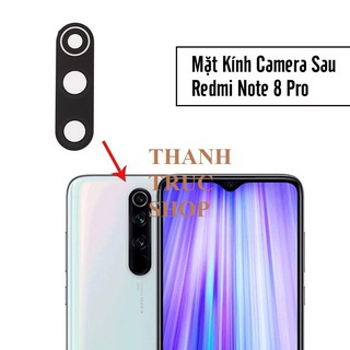 Kính Điện Thoại Camera Xiaomi Redmi Note 8 Pro - Xiaomi Mi 10T Lite thumbnail