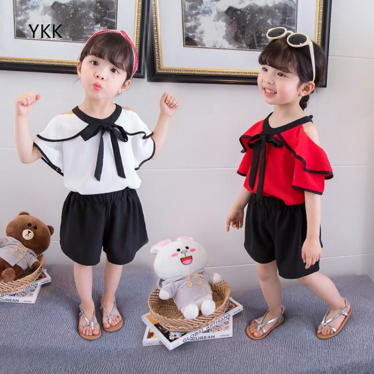 YKK.vn 🌵 Leisure sports suit Style Korean suit New product Cute child Comfortable Simple Boutique children's wear
