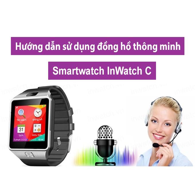 Đồng hồ thông minh SmartWatch DZ09 (bạc) tặng kèm đồng hồ Sport LED