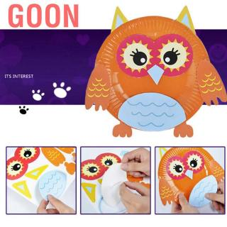 Goon Colorful Cartoon Animals Stickers DIY Art Craft Supply Board