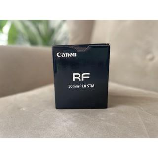 Ống kính Canon RF 50mm F1.8 STM mới 100% thumbnail