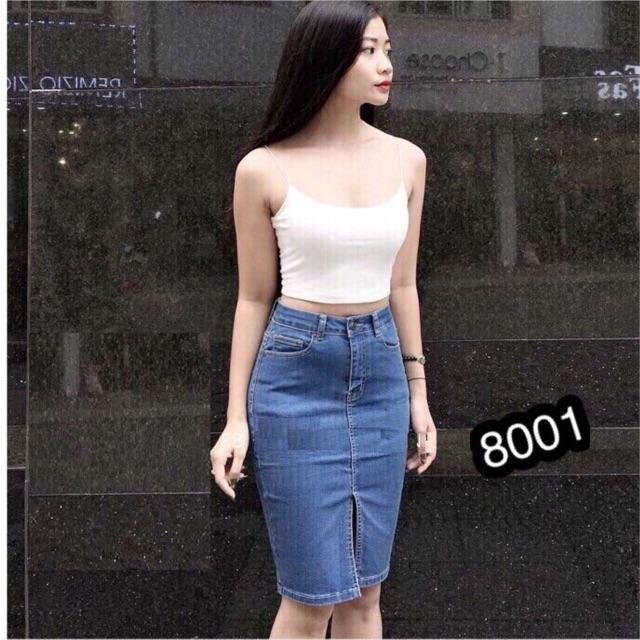 Chân Váy Jeans Ôm Body, Dáng Bút Chì SEXY - 3166748 , 846903590 , 322_846903590 , 250000 , Chan-Vay-Jeans-Om-Body-Dang-But-Chi-SEXY-322_846903590 , shopee.vn , Chân Váy Jeans Ôm Body, Dáng Bút Chì SEXY