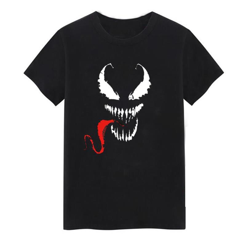 Áo thun tay ngắn họa tiết Venom độc đáo