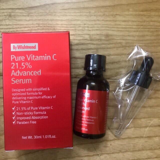 Serum trị thâm mụn, dưỡng trắng OST Pure Vitamin C 21.5 Advanced Serum - 3352610 , 516980398 , 322_516980398 , 259000 , Serum-tri-tham-mun-duong-trang-OST-Pure-Vitamin-C-21.5-Advanced-Serum-322_516980398 , shopee.vn , Serum trị thâm mụn, dưỡng trắng OST Pure Vitamin C 21.5 Advanced Serum