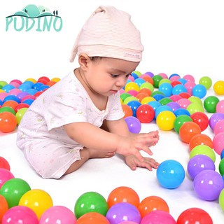 ∫ Great Kids Funny Swim Pit Toys Soft Colorful Plastic Ocean Ball ∫