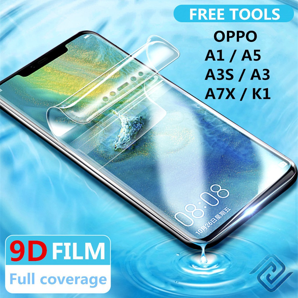 Oppo A1 / A3 / A3S / A5 / A7X / K1 Clear Hydrogel Soft Screen Protector