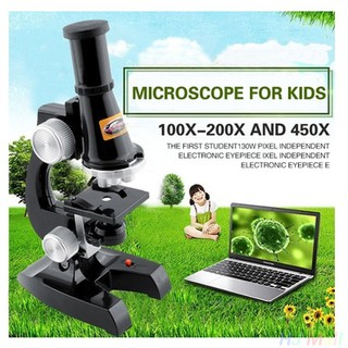 SoYoung 100X 200X 450X Laboratory Microscope Educational Kids Toy