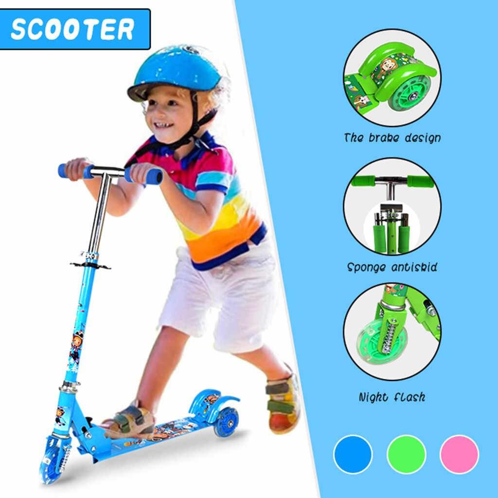 Xe trượt scooter, Xe scoter 3 Bánh Phát Sáng Thích hợp cho các bé từ 2 tuổi trở lên xe cân bằng, an toàn cho bé yêu