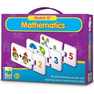 Thẻ học thông minh Match it Mathematics – Bộ thẻ ghép học toán Hộp tím