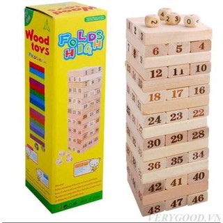 Rút Gỗ Số loại lớn, chính hãng Wood toys