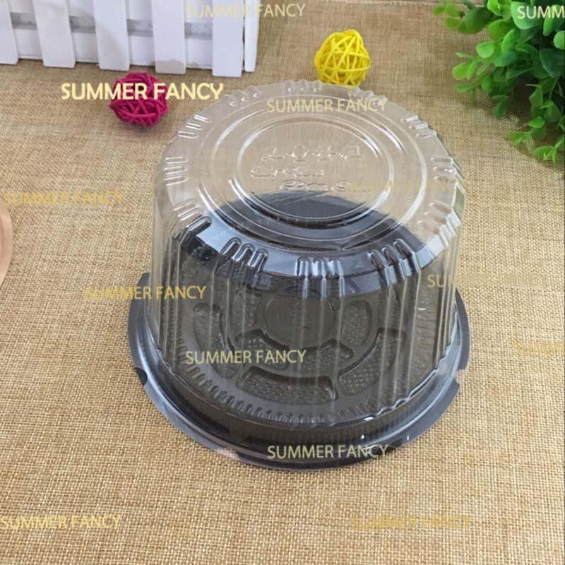Hộp nhựa nắp chụp A014 13.3×6.5cm đựng bánh Trung thu ( sẵn )