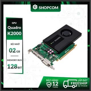 Nvidia Quadro K2000 - 2G DDR5 128Bit thumbnail