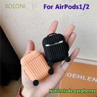 BOLONI Durable Wireless Bluetooth Earpods Suitcase Headset Accessories Headphone Cover