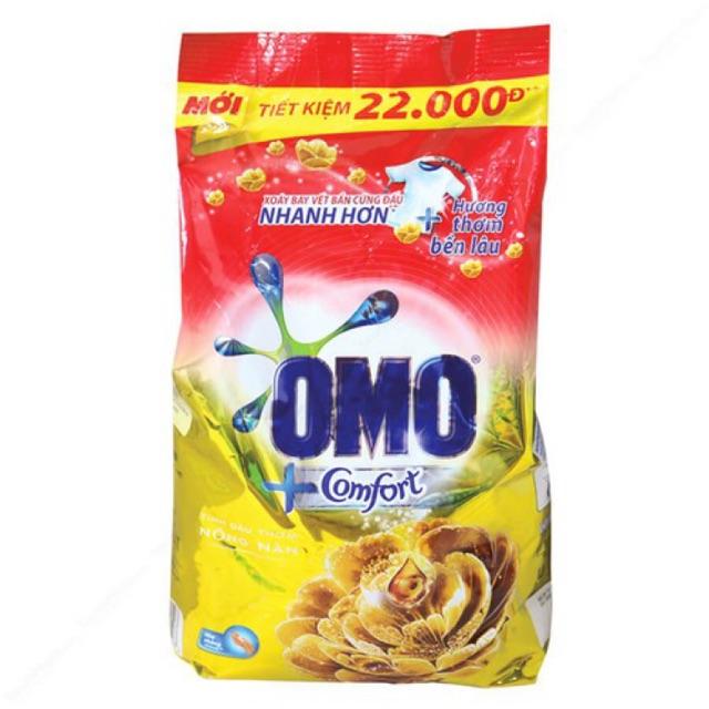 Bột Giặt OMO Comfort Tinh Dầu Thơm 2,7Kg