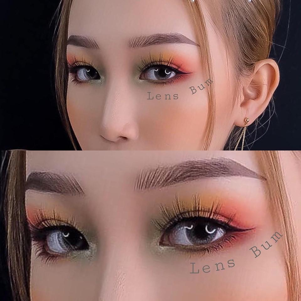Lens xám áp tròng , lens Vassen Hàn