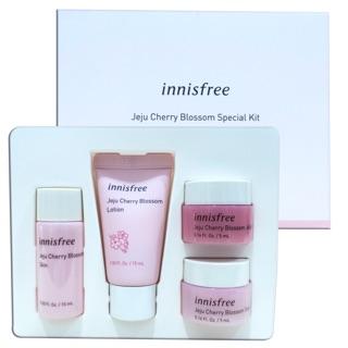 [Minisize] Bộ kit dưỡng ẩm và nâng tone da Innisfree Jeju Cherry Blossom Special Kit 4 món thumbnail