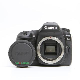 Máy ảnh Canon 80D ( body 98%)
