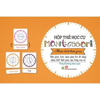 Hộp học cụ Montessori - Nhận biết thời gian