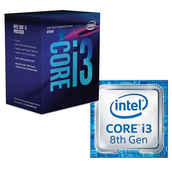 [HÀNG MỚI 100% BH 36th] CPU Intel Core i3-8100 3.6Ghz / 6MB / 4 Cores, 4 Threads / Socket 1151 v2 Giá chỉ 2.680.000₫