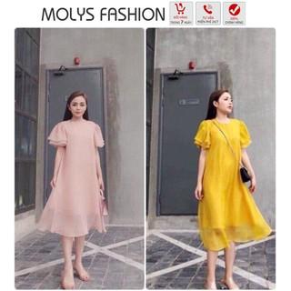 Váy bầu, Đầm bầu ĐẸP THỜI TRANG VOAN MỀM MOLYS thumbnail