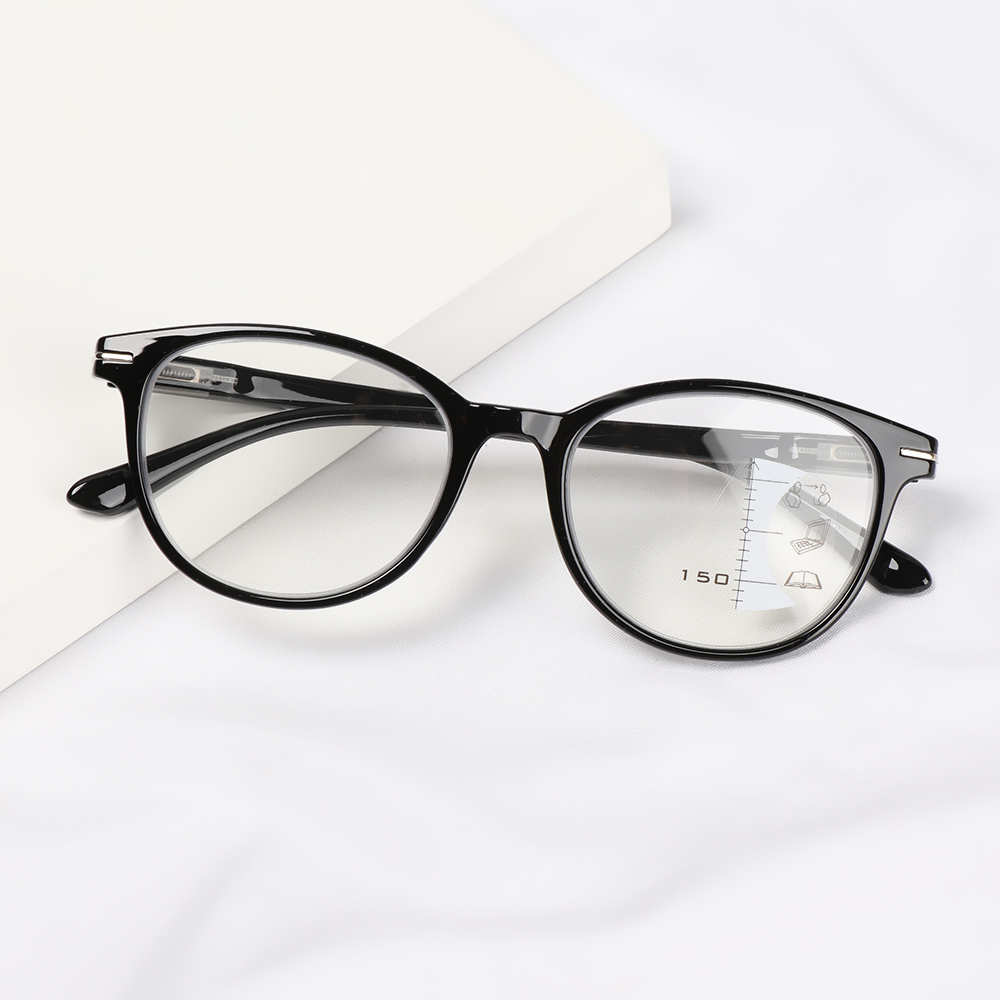 MIHAN1 Readers Eyeglasses Presbyopia Glasses Vision Care Progressive Multifocal Reading Glasses UV Protection Men Women Vision Diopter Blue Light Blocking...