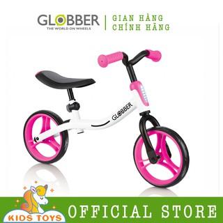 Xe thăng bằng Globber Go Bike - Trắng Hồng